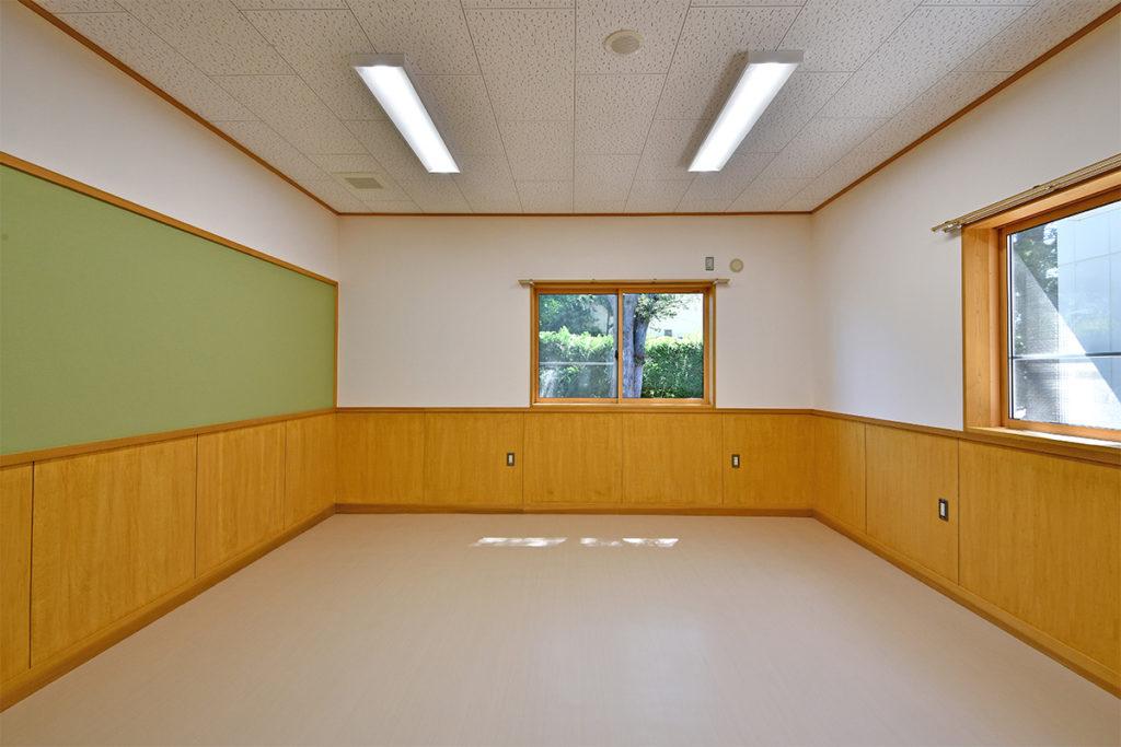 生徒面談室 温かみのある空間